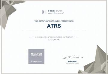 Certificat de partenariat D-Link